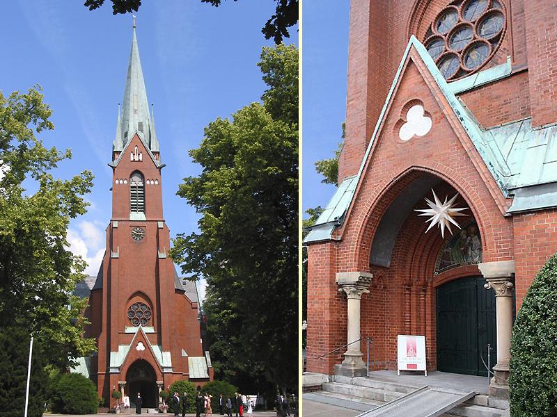 Blankeneser Kirche Am Markt
